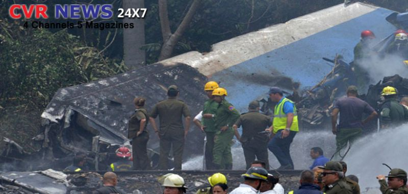 Havana plane crash in eastern Cuban city of Holguin