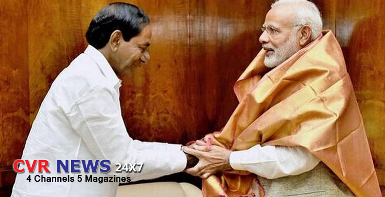 kcr to meet modi in delhi