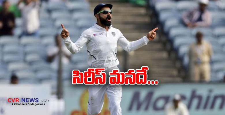 india won the test match