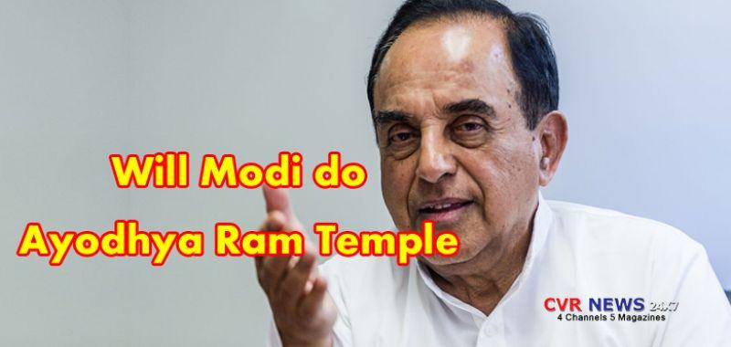 Will Namo do it? Subramanian Swamy